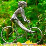 sweating - cyclist statue - Copy